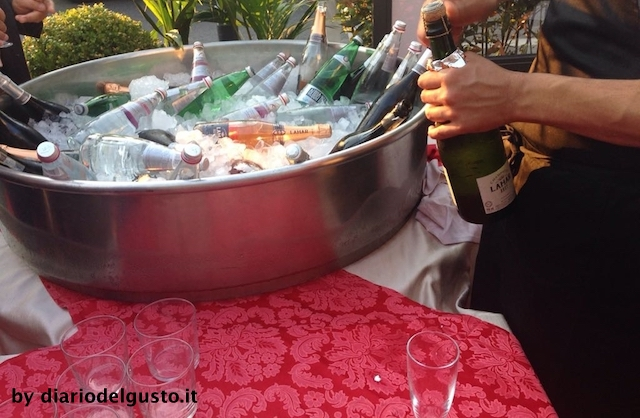 Bevande buffet Giordano cucina ai Parioli